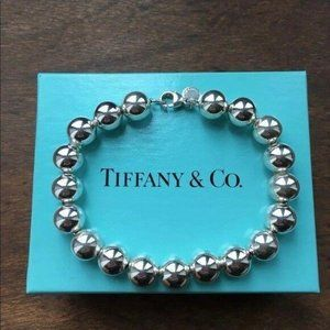 Tiffany & Co. Sterling Silver Beaded Ball Bracelet